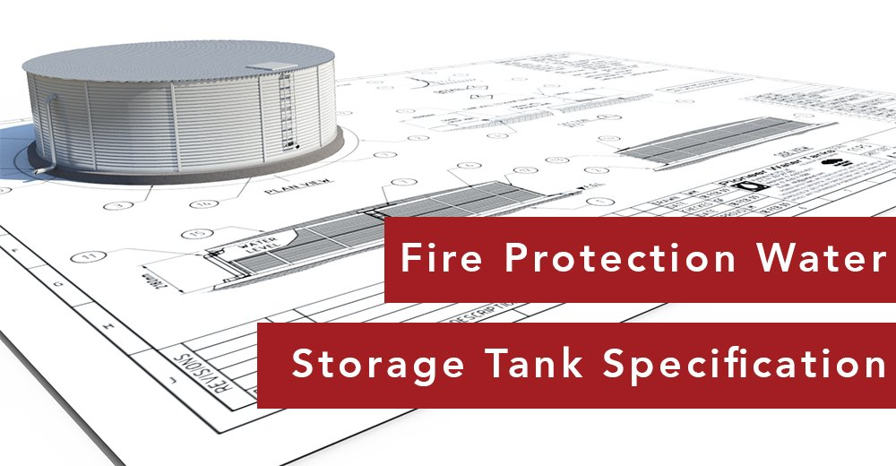 Fire Protection Water Tank Specification