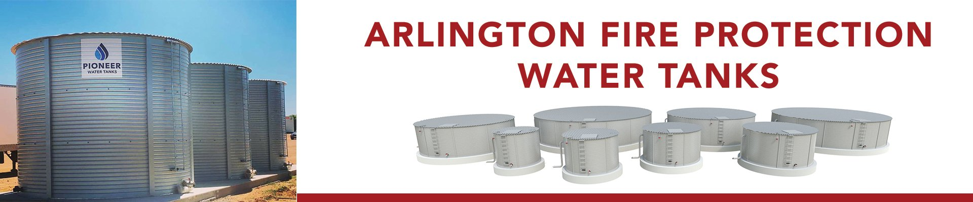 Arlington Texas Fire Protection Water Tanks