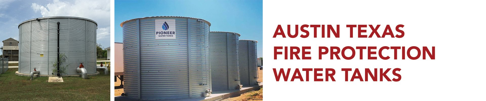 Austin Texas Fire Protection Water Tanks