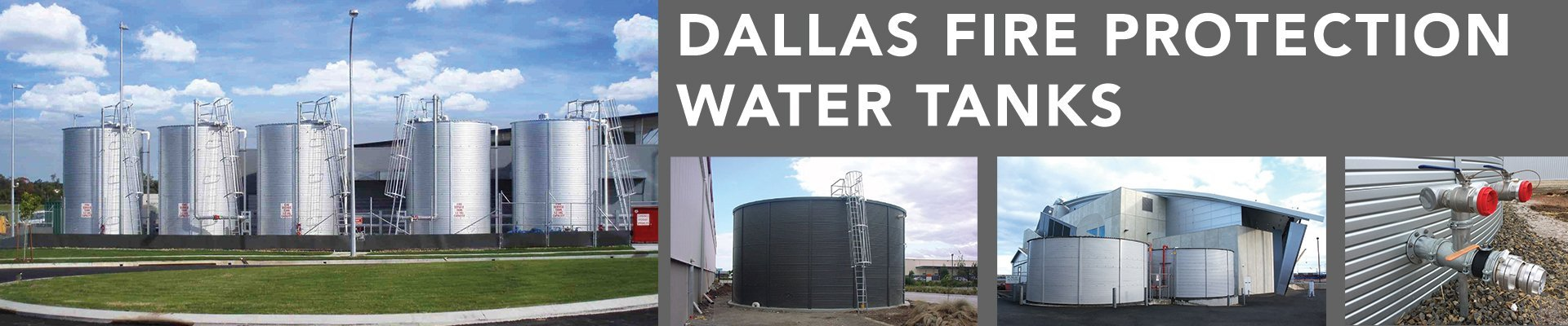 Dallas Fire Protection Water Tanks