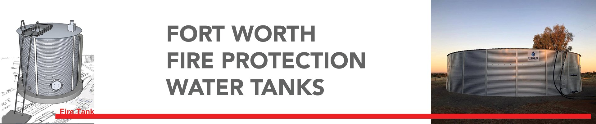 Fort Worth Fire Protection Water Tanks