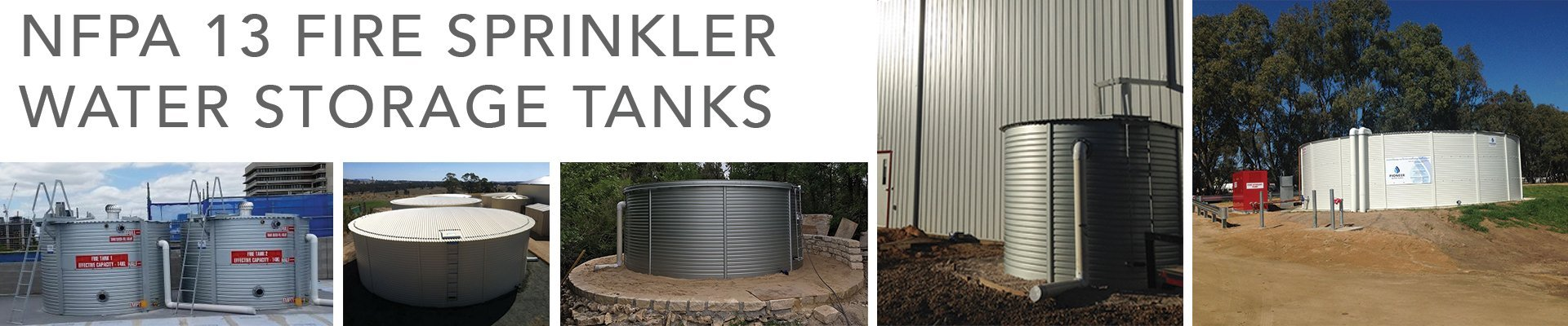 Npfa 13 Fire Sprinkler Tanks Fire Protection Water Tanks