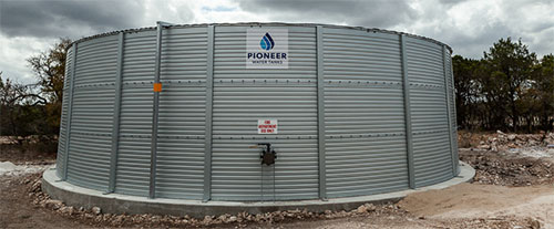 Texas fire protection water tank Flow Rainwater Systems