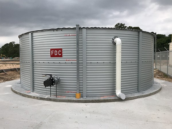 NFPA 1142 water supplies storage tanks